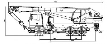 КС-5571BY-С на шасси МАЗ-6312С3-0000529-010 «Евро-5»
