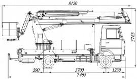 АГП-20-8 на шасси МАЗ-4371N2