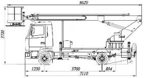 АТП-17-8 на шасси МАЗ-4371N2