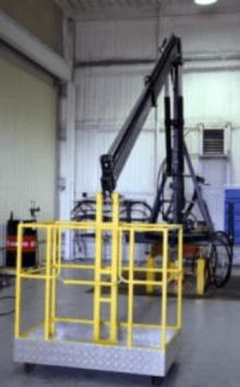 Корзина грузоподъемная модернизированная для DL AGRO (или ГСТ-1000)