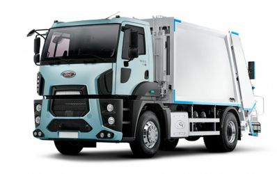 Мусоровоз Hidro-Mak 14 на шасси Ford Cargo 1833D