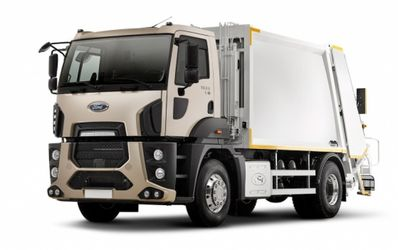 Мусоровоз Hidro-Mak 15 на шасси Ford Cargo 1833D