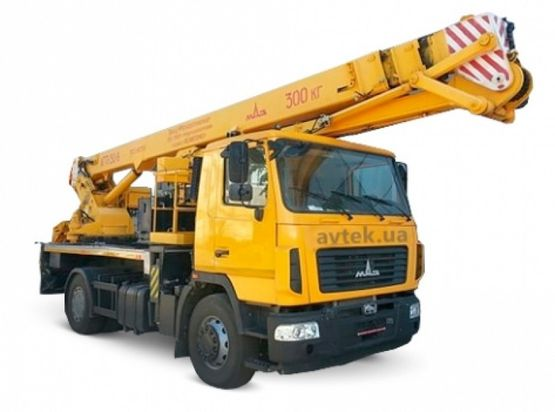 АГП-30-А на шасси МАЗ-5340B2-427-000