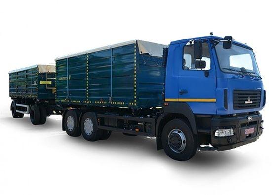 МАЗ-6501C5 (Автопоезд АС-1422 и прицеп ПС-1424)