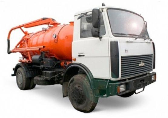 Илососная машина КО-503ИВ-10