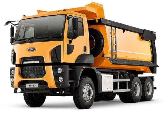 Ford Trucks 3542D (ST-52, 6x4, прямоуг.сечение)