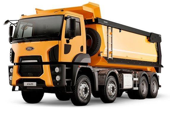 Ford Trucks 4142D (Hardox, 8x4, овал.сечение, мех. тент)