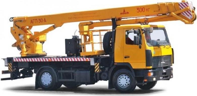 АГП-30-А на шасси МАЗ-5340С2-527-001