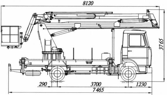 АГП-20-8 (двиг. ЯМЗ)