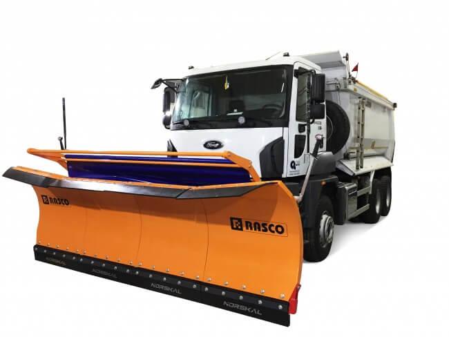 Солеразбрасыватель RASCO в самосв. Ford 3542DC+MOSOR PK 3,2m