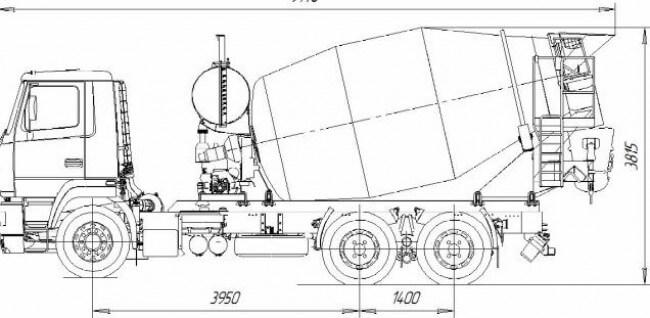 АБС-9 на шасси МАЗ
