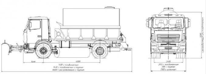 Комбинированная дорожная машина MA3–5912С2-310
